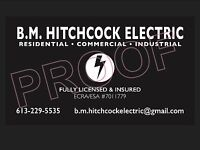 Fully Licensed and insured Master Electrician