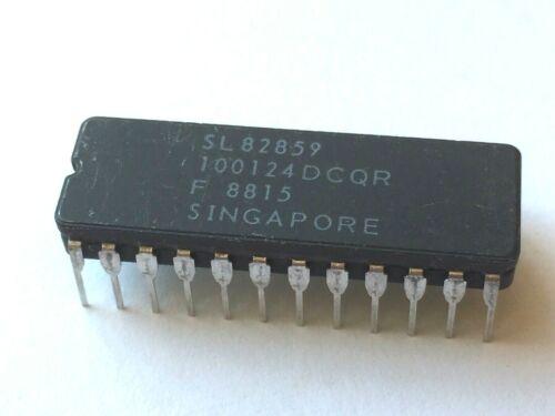 "F100124 Hex TTL-to-ECL Translator, 0.4"" 24-pin ceramic DIP"