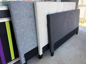 NEW DOUBLE QUEEN KING SIZE UPHOLSTERED HEADBOARD FABRIC BEDHEAD