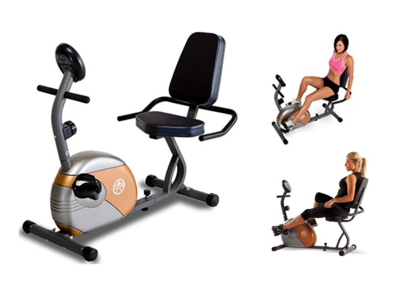 Recumbent Bike Marcy Stationary Cardio Exercise Workout Home