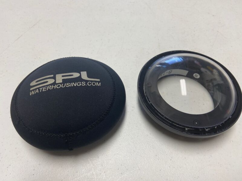SPL Dome Port for Canon 8-15mm lens - EXCELLENT CONDITION