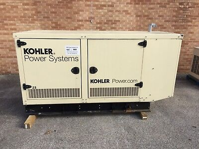 Kohler 25 Kw Propane Natural Gas Generator - Gm Engine - 0.4 Hours