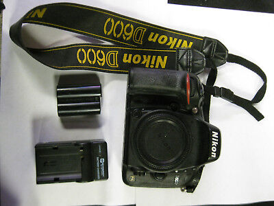 Nikon DLSR Camera D600 24.3MP Body only