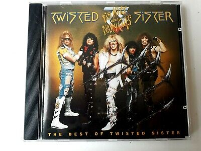 Twisted Sister Big Hits And Nasty Cuts Best Of CD Made in Germany Brand New (Best Brands In Germany)
