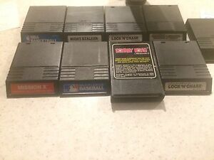 Intellivision game cartridges