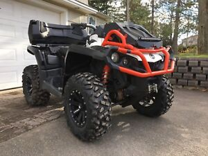 2017 CANAM OUTLANDER MAX 850 - DPS, 2UP,  FACTORY WARRANTY