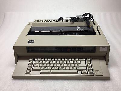 Ibm Wheelwriter 3 Vintage Electronic Typewriter Used Ribbon - Tested - Working