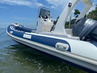 New 5.2 Meter (17 feet) Rigid Hull Inflatable Boat - HYPALON - TRAILER