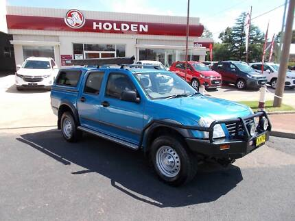 2005 Holden Rodeo LX Crew Cab Ute 4WD Young Young Area Preview