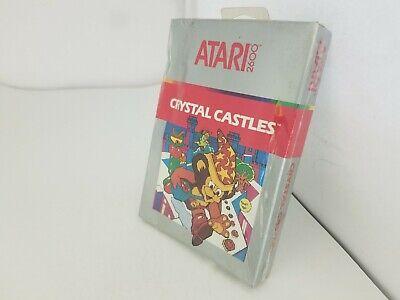 Nuevo Precintado Con Aplastado Caja Versión Pal Crystal Castles Juego Para Atari