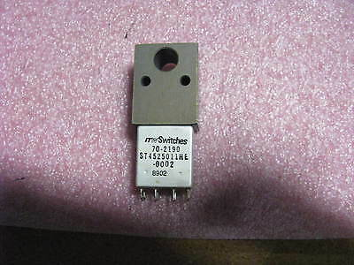 Illinois Tool Works Push Switch   70 2190  Nsn  5930 01 131 8006