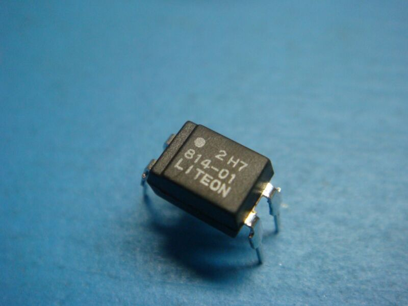 (10) LITEON LTV814-01 1-CHANNEL TRANSISTOR OUTPUT OPTOCOUPLER 4 PIN DIP