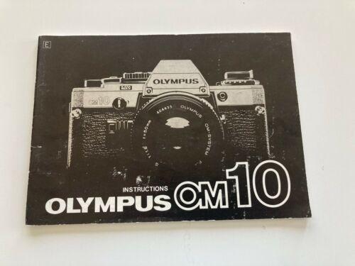 Olympus OM-10 instruction / owner