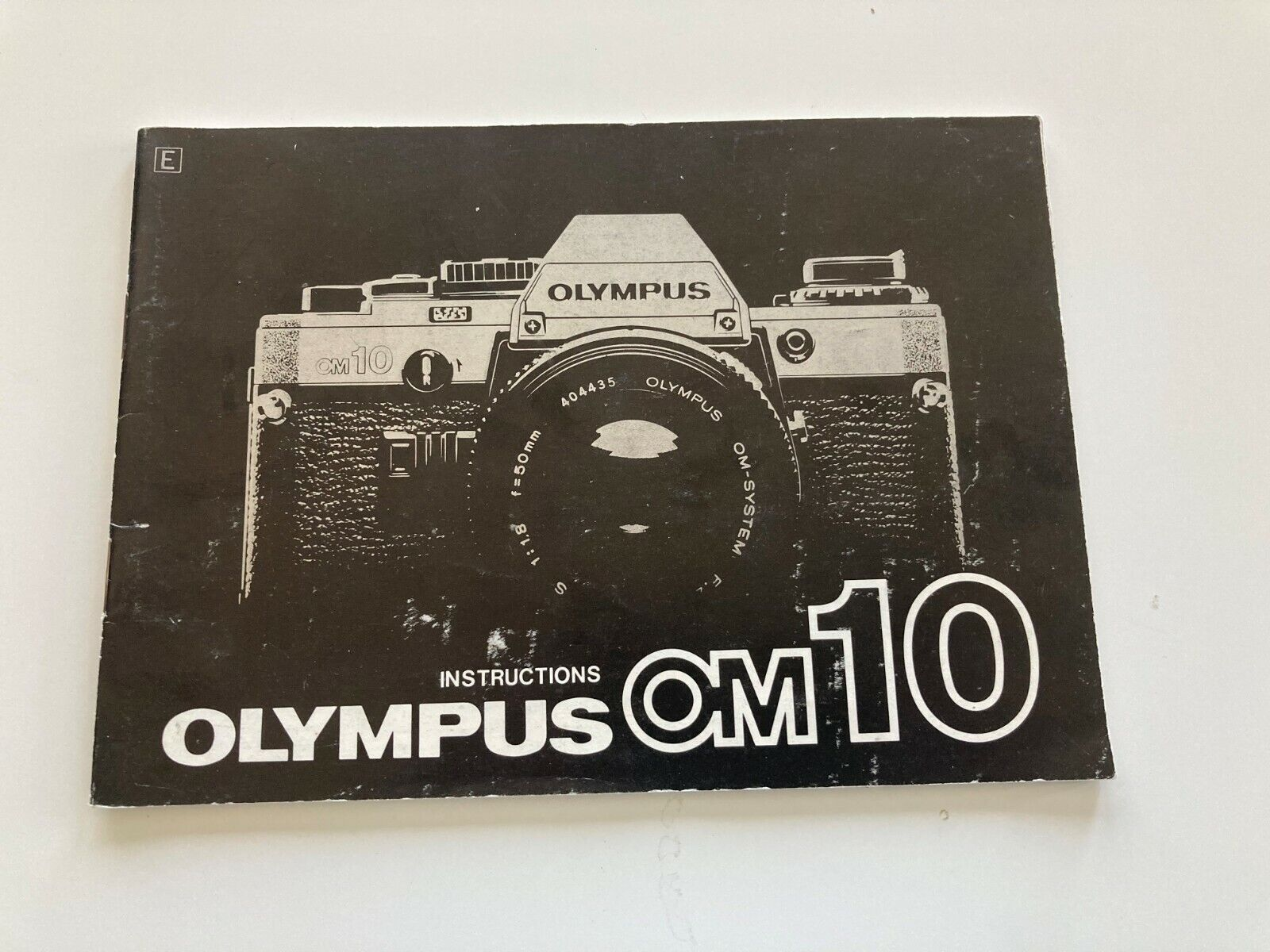 Olympus OM-10 Instruction / Owner s Manual - Free Shipping - $7.50