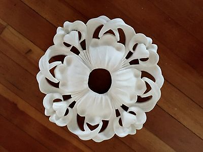 """Fine Hand-made Plaster Ceiling Medallion, 15"""" diameter"""