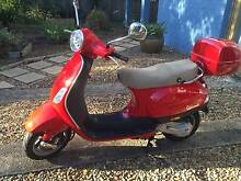 Vespa LX50, stylish red in great condition Geebung Brisbane North East Preview