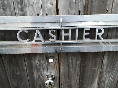 Cashier Grill stainless steel 1920s  54
