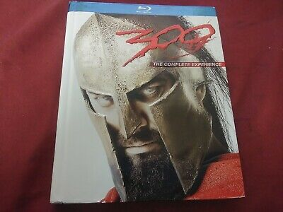 300 THE COMPLETE EXPERIENCE BLURAY DVD MOVIE FILM DISC BOX SET WARNER BROS 2007 - 300 The Movie