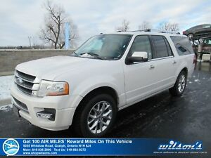 2017 Ford Expedition Max LIMITED 4WD | NAVI | SUNROOF | LEATHER
