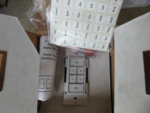 Leviton MSCRW White Multi-Location Channel Remote NEW!!! Free Shipping