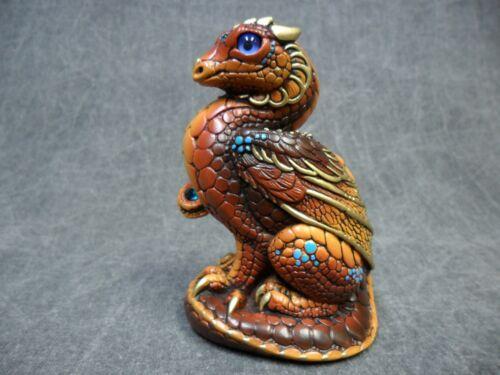 Windstone Editions NEW * Brown Mini Keeper Dragon * Statue Figurine Figure