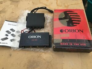 Vintage Orion EQ and Crossover