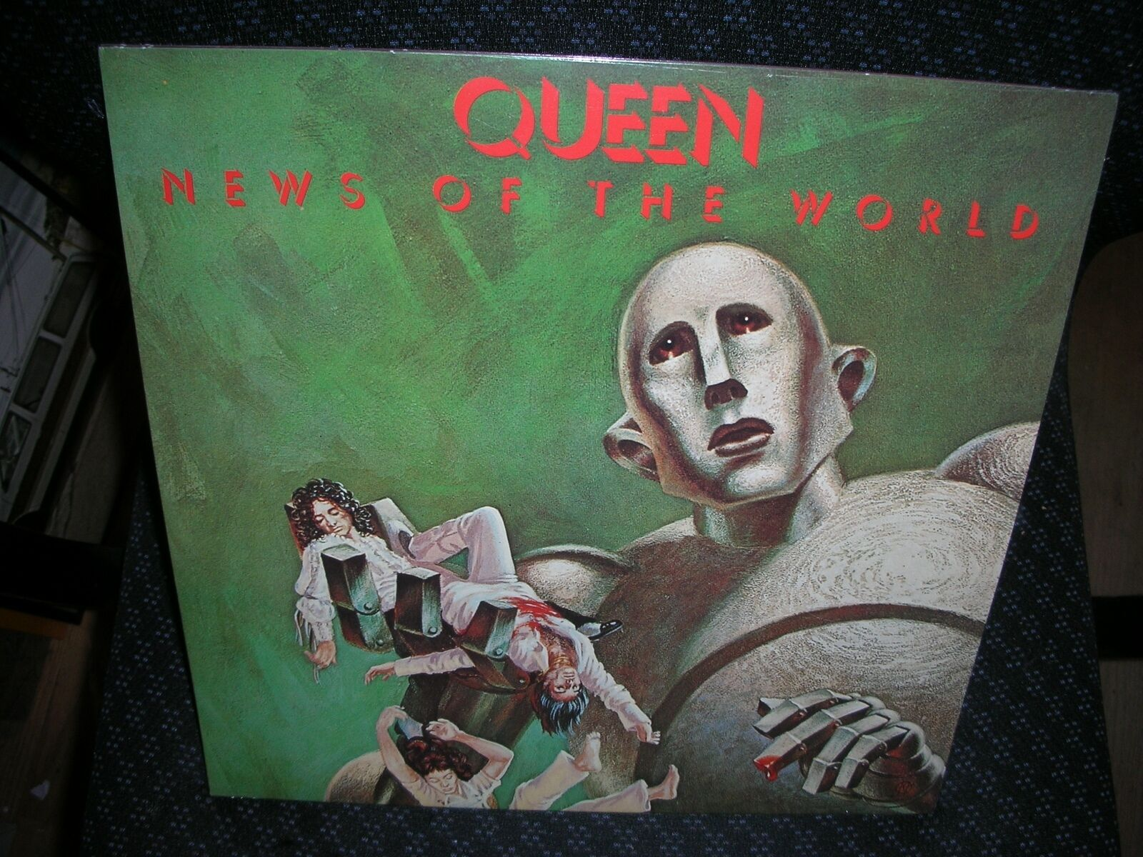 Купить QUEEN **News of the World **BRAND NEW 180 GRAM RECORD LP VINYL