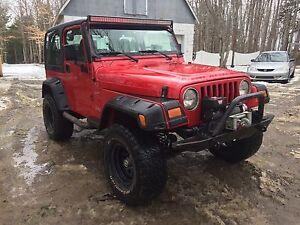 02 Jeep TJ 4.0L 6cyl Sport