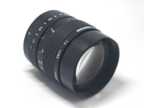 Pentax 27509KA Machine Vision Lens 75mm F 1:1.4 C-Mount
