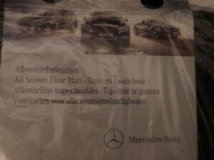 Brand new Mercedes Benz original all-season floor mats