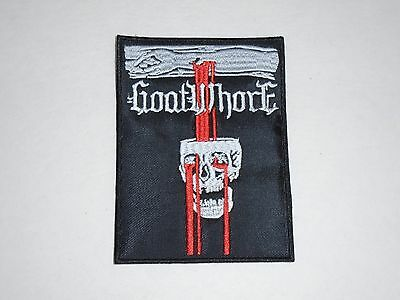 GOATWHORE BLACK METAL EMBROIDERED PATCH