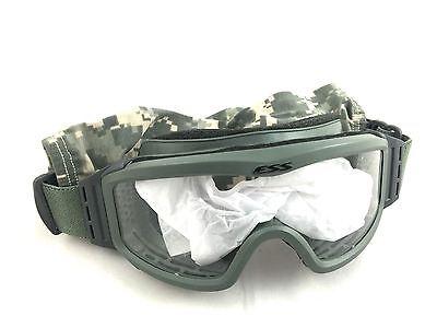ESS Profile Unit Issue Ballistic Goggles, w Clear & Dark Lens, USGI Army Eyewear
