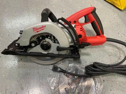 "Milwaukee 6477-20 7-1/4"" Worm Drive Circular Saw with Standard Plug - NEW"