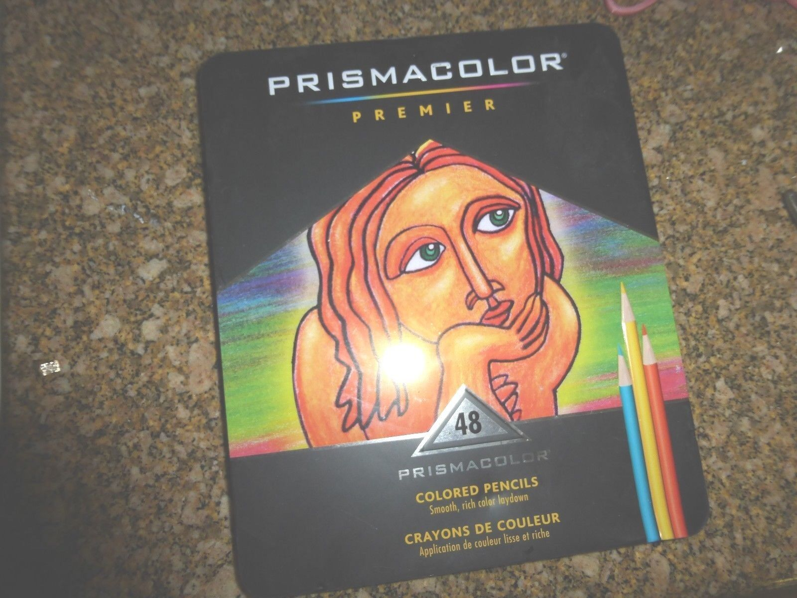 Prismacolor Quality Art Set Premier Colored Pencils 48 Pack