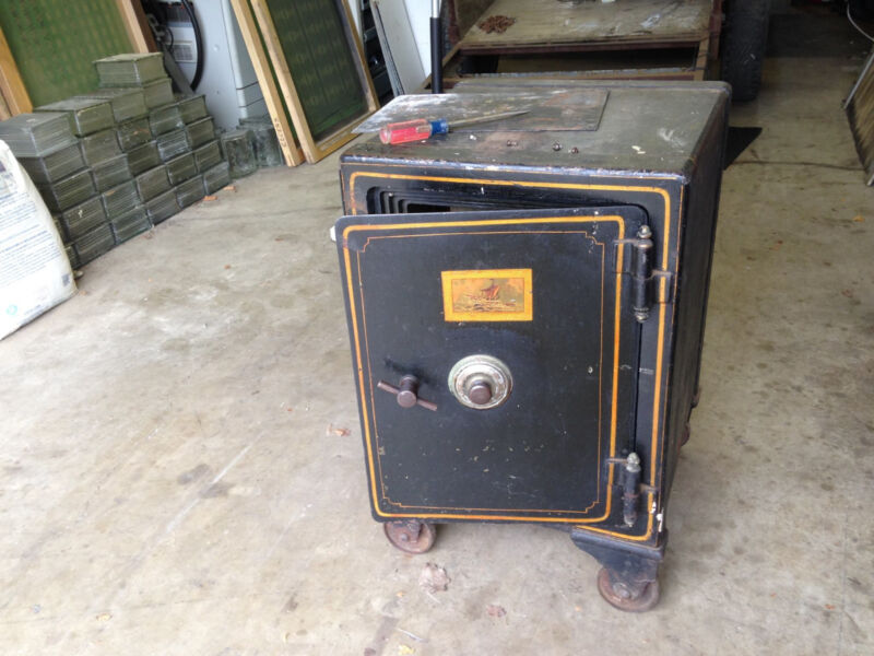 J. Baum Safe & Lock Company Antique Early 1900 Buyer Responsible for Freight