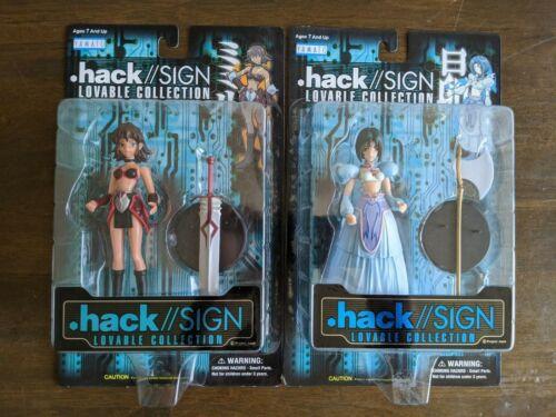 Bandai Yamato .hack//SIGN Lovable Collection Subaru & Mimiru Action Figures NIB