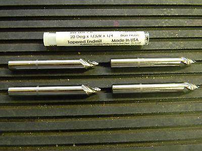 Precision Solid Carbide Ball End Mill 20 X 132r X 14 Qty. 4 Awa-bw001cb
