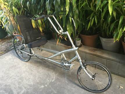 Recumbent bicycle  Cycle genis (USA)  LWB 27 speed VGC.