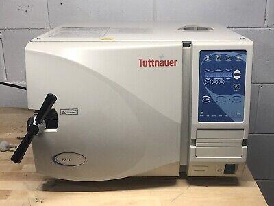 Tuttnauer Ez10 Dental Autoclave Medical Steam Sterilizer Refurbished