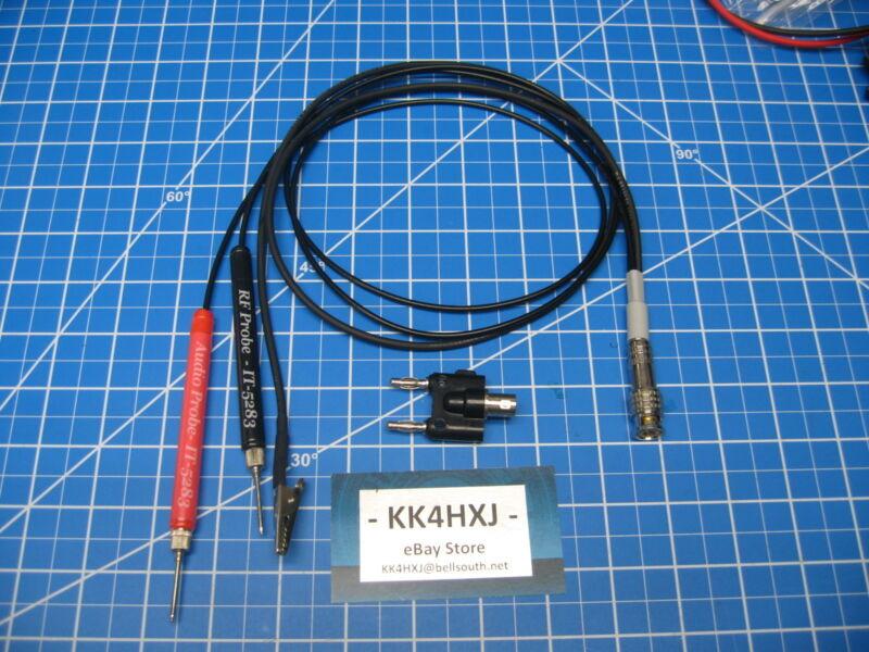 Custom RF & Audio Probe for Heathkit IT-5283 Signal Tracer - Assembled