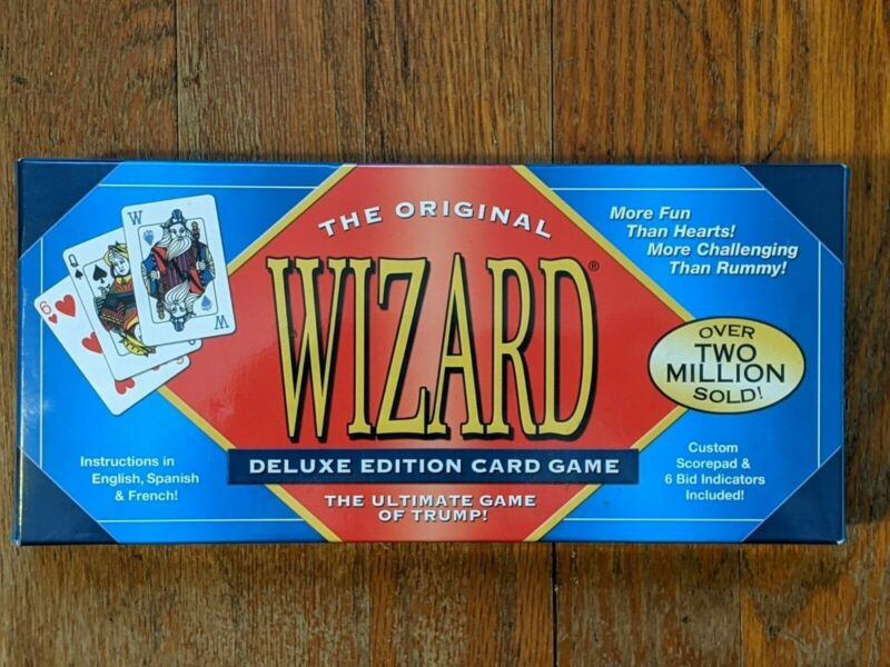 The Original Wizard Deluxe Edition Card Game