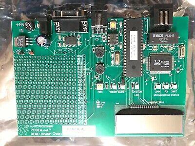 Microchip Picdem Ethernet Id 1702 Demo Board 02-01593-r4