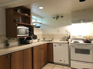1 Bedroom in basement for Rent available o July 5th
