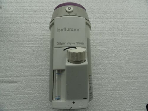 Drager Vapor 2000 Isoflurane Vaporizer Anesthesia Surgical ISO with filler