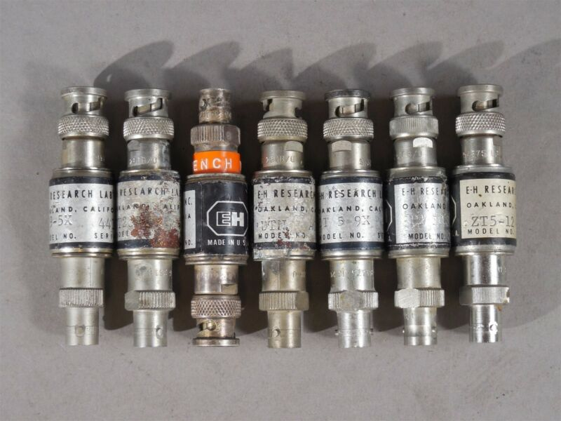 LOT of 7 E-H Research Labs RF Filters