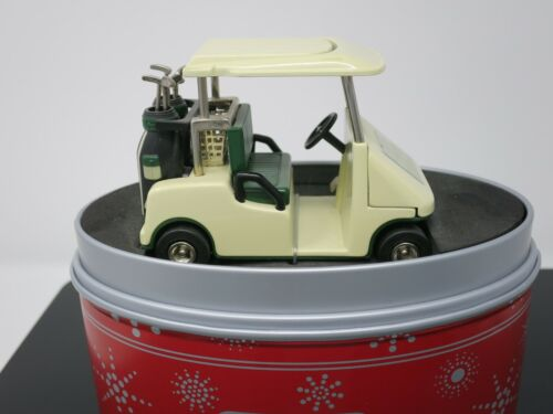 Relic Golf Cart Desk Clock Limited Edition in Metal Box