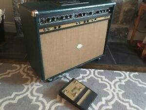 Vintage British made Carlsbro guitar amplifier amplificateur