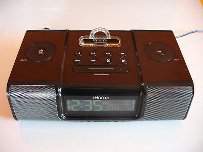 iHome iP9 iPhone/iPod Alarm Clock Radio