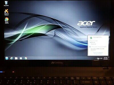 Acer Aspire 5742 15.6 4gb Ram 64GB SSD 320GB HDD Core i5 DVDRW Win 7 two Battery