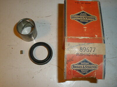 Vintage Nos Briggs Stratton Gas Engine Early Cylinder Bushing 89677